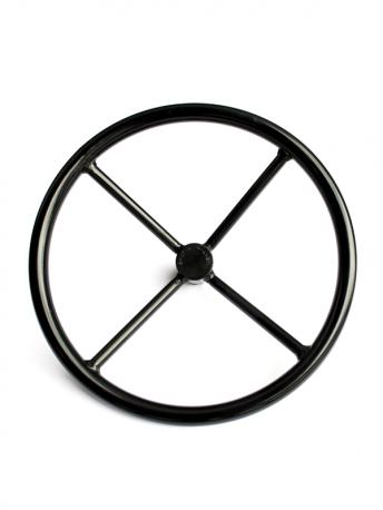 Kohlenstoffstahlhandräder | Carbon steel handwheels | Koolstofstaalhandwiel LHW 400